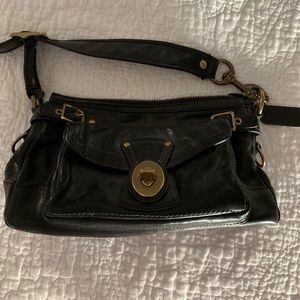 Coach Black Shoulder Bag with awesome details